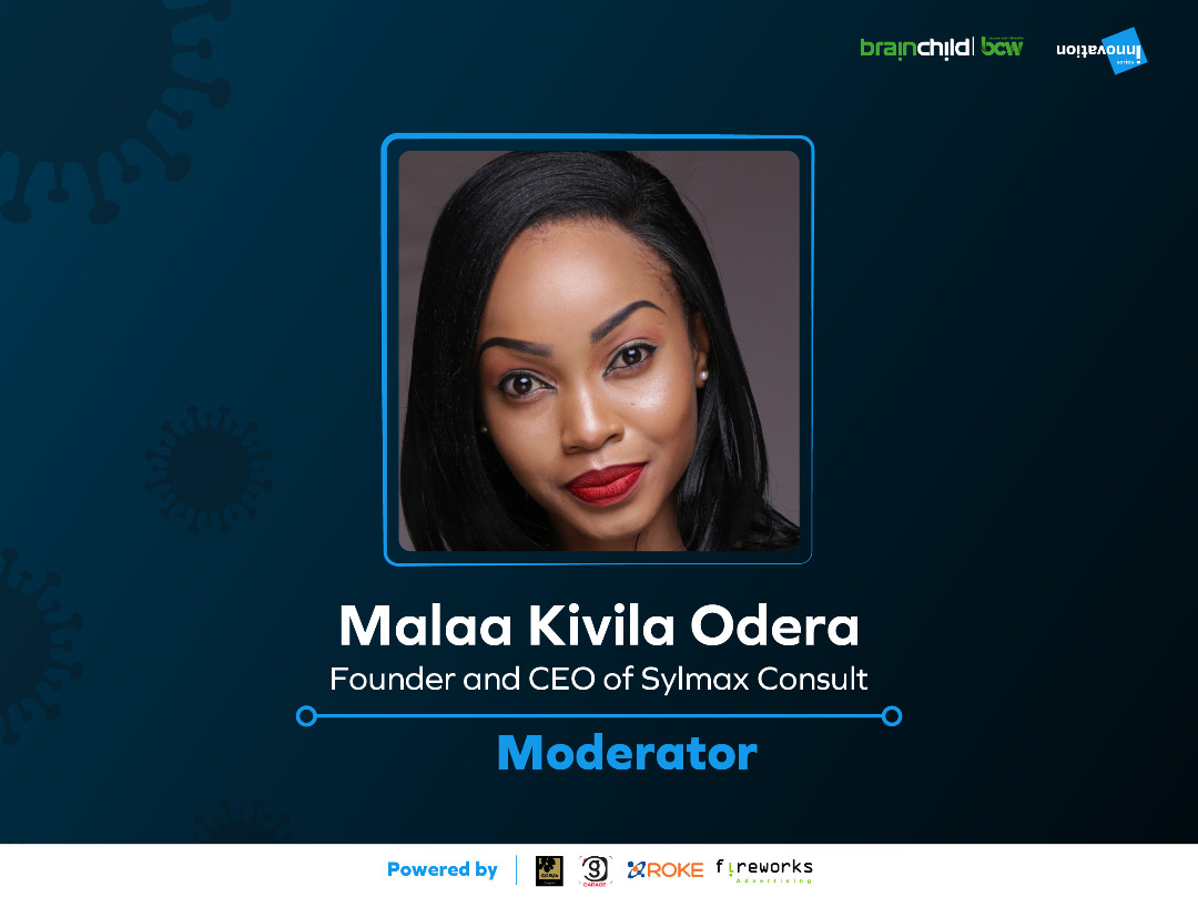 Malaa Kivila Odera, Moderator for the 5th Innovation Series